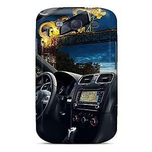 New Fashion Premium Tpu Case Cover For Galaxy S3 - Volkswagen Gti Interieur wangjiang maoyi
