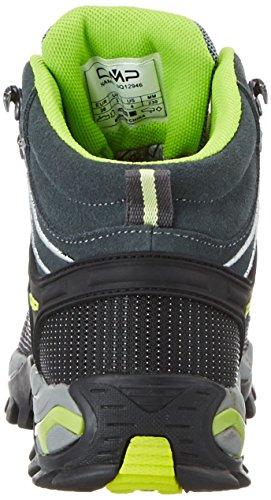 Grey Rigel Chaussures Hautes Randonnée ice Gris de Femme CMP WP Mid acido FCS4zzq
