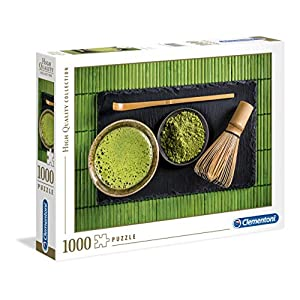 Clementoni 39522 High Quality Collection Puzzle Matcha Tea 1000 Pezzi Made In Italy Puzzle Adulto