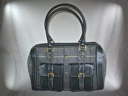 Amazon.com  Etienne Aigner Handbags   Purses   Satchels   Totes (Black    Gray   Red   Tweed) NWOT  Everything Else 46b66cace8