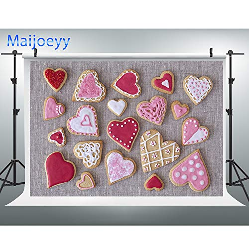 Maijoeyy 7x5ft Baby Shower Backdrop Smash Cake Background for Children Picture First Birthday Dessert Sweet Cookie Candy Party Biscuit Cream Food Table Wall Decoration for Party Photography 136266665 ()