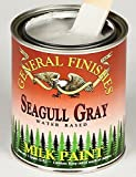 General Finishes QSGG Milk Paint, 1 quart, Seagull Gray