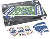 Dallas Cowboys, Game Set Includes Checkers and and Playing Cards.