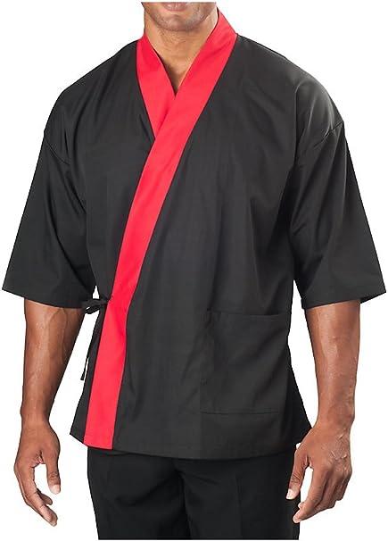 Amazon.com: KNG ¾ Sleeve Sushi Coat: Clothing