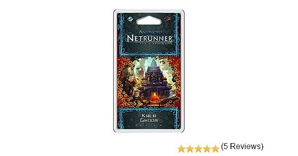 Fantasy Flight Games Android Netrunner LCG – Kala Ghoda Datos Pack: Amazon.es: Juguetes y juegos
