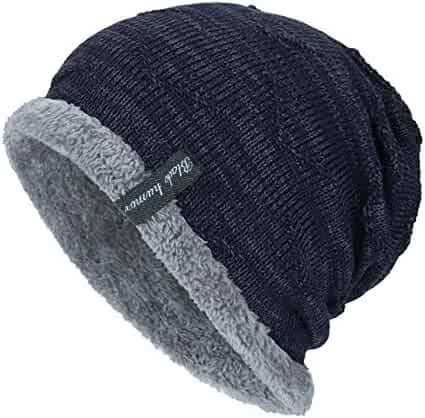 607a171b3c5 WUAI Clearance Unisex Knit Cap Hedging Head Beanie Warm Outdoor Fashion Hat
