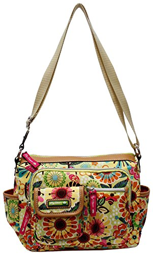 Lily Bloom Crossbody Bag , Woman Bag , Eco Friendly, Flowers
