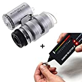 StillCool Jeweler Tool Kit Diamond Tester V2 + 45X Illuminated LED Loupe