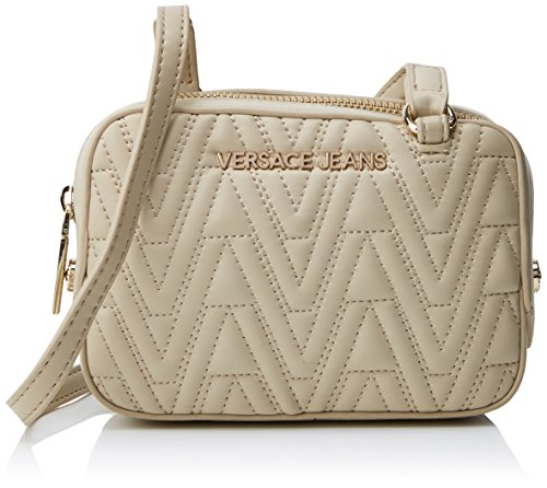 Tracolla Ee1vrbby3 L E70040 Versace Donna Borsa H x 5x11 cm Marrone a W Jeans Legno 5x16 x 5wwxnX