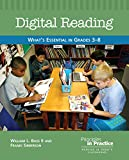 img - for Digital Reading: What's Essential in Grades 3-8 (Principles in Practice) book / textbook / text book