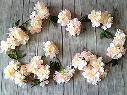 Amazon the titus shop 2 pcs flower garland artificial floral the titus shop 2 pcs flower garland artificial floral garland fake flower garland mightylinksfo
