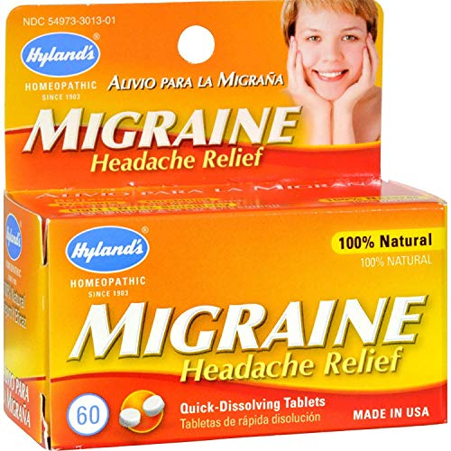 Hylands Migraine Headache Relief - 60 Tablets (Pack of 2)