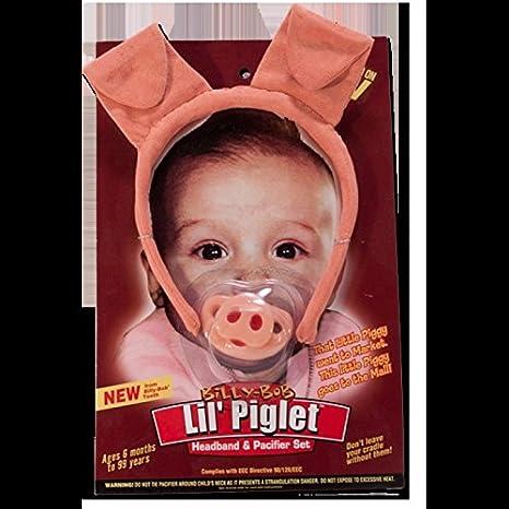 Billy Bob LIL PIGLET Chupete original EE.UU. Marca: Amazon ...