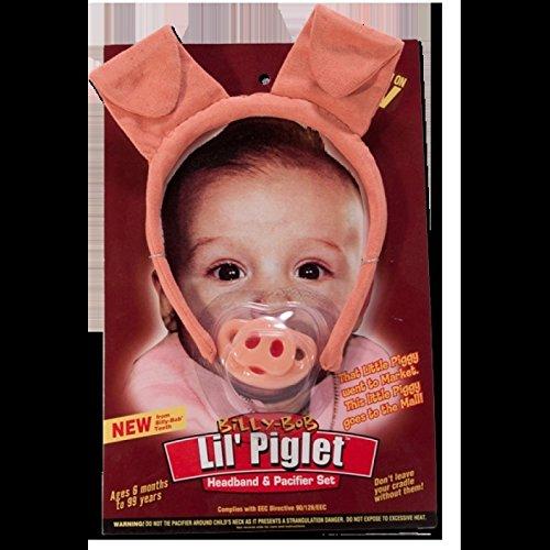 Billy Bob LIL PIGLET Chupete original EE.UU. Marca: Amazon.es: Hogar