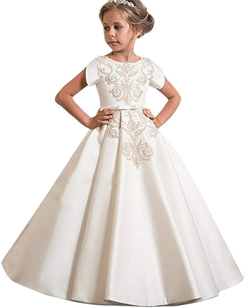 VJGOAL Vestidos de Princesa para niñas Vestido de Novia de ...