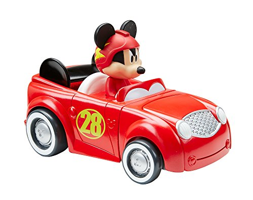 Fisher-Price Disney Mickey & the Roadster Racers, Transforming Hot Rod Mickey]()