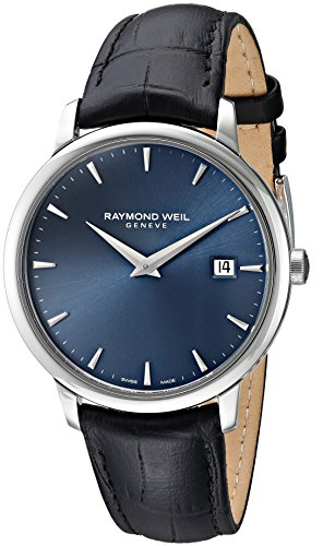 Raymond-Weil-Toccata-Swiss-Quartz-Stainless-Steel-Dress-Watch-ColorBlack-Model-5488-STC-50001