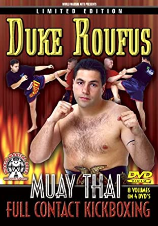 Amazon com: Duke Roufus Muay Thai Instructional DVDs, 8 Amazing