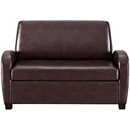 Amazon.com: Richman789 Bed Sofa Sleeper Couch Faux Leather ...