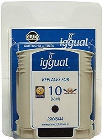 Iggual HP C4844A - Cartucho reciclado, color negro: Amazon.es ...