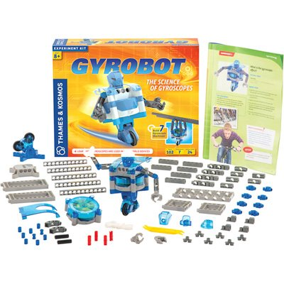 Thames and Kosmos Gyrobot-Gyroscopic Robot Kit