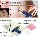 Healthcom Professional Ear Piercing Gun Tool Set
