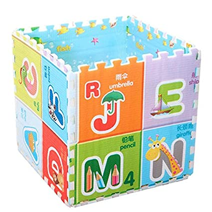 Yingui - 6 piezas de alfombrillas de espuma EVA para jugar al suelo, puzle de