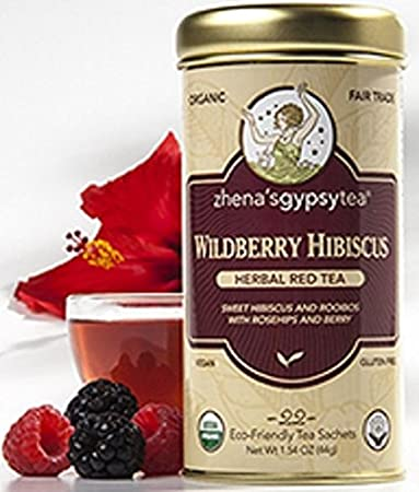 Amazoncom Zhenas Gypsy Tea Wildberry Hibiscus Cooler Tropical Red
