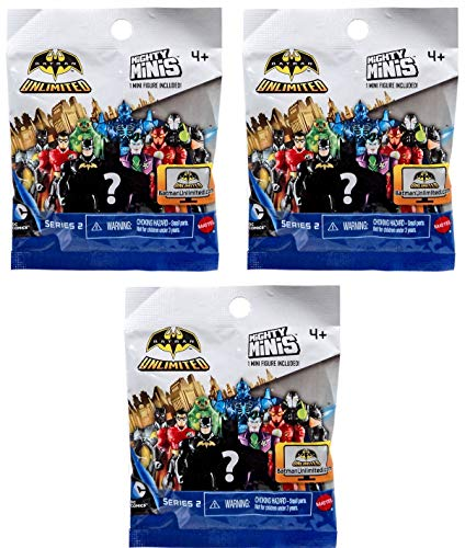 Batman Unlimited Series 2 Mighty Minis Action Figure Blind Packs -