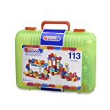 BRISTLE BLOCKS By BATTAT - The Official Bristle Blocks - 113 Pieces in a Carry Case - Creativity Building Toys for Dexterity and Fine Motricity - Bpa Free 2 Years +