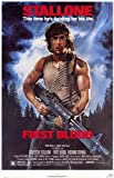 First Blood (Rambo) - Mounted Movie Poster