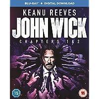 John Wick: Chapters 1 & 2 [Blu-ray + Digital Download] [2017]