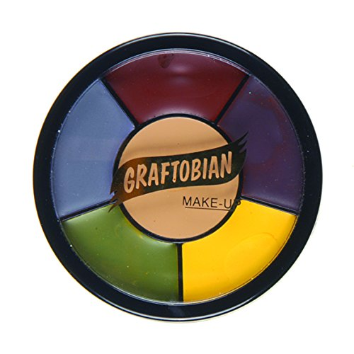 Graftobian Professional Makeup Severe Trauma Wheel, 1 Ounce -