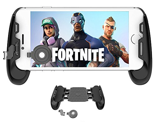Mobile Game Controller and Gamepad, Sensitive Shoot and Aim Trigger Fire Button, Gamepad for Fortnite/PUGB / Rules of Survival, Mobile Gaming Joysticks for Android IOS by Fitoplay (Image #6)