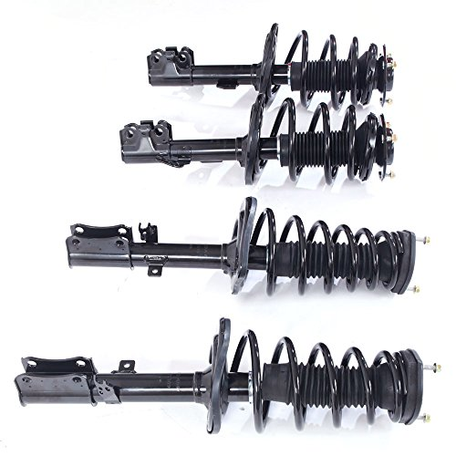 Camry Rear Absorber - Full Set Front & Rear Strut Shock Coil Spring Assembly for Toyota 2007 2008 2009 2010 2011 Camry & 2008-2011 Avalon