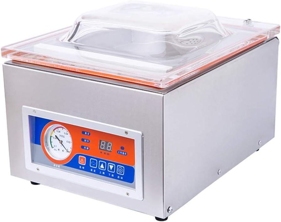 BAOSHISHAN Commercial Vacuum Sealing Machine Automatic 1-5S Fast Sealing Food Dry-wet Packaging Machine Rice Brick Vacuum Machine Single Chamber (110V) (110V)