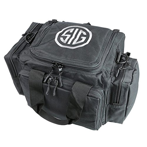 Sig Sauer Sigtac Tactical Handgun Pistol Revolver Range Bag W  5 Pockets   Shoulder Strap