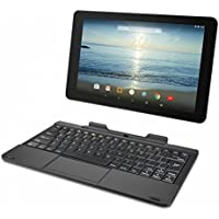 RCA Viking Pro 10in Tablet Quad-Core 32GB Android 5.0 Lollipop with Detachable Keyboard (Black) (Renewed)