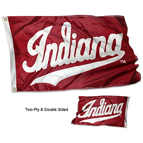 - College Flags and Banners Co. Indiana Hoosiers Double Sided Flag