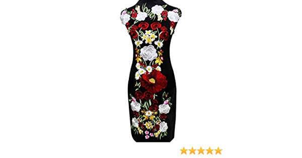 Lisin Toddler Kids Baby Girl Short Sleeve Outfits Clothes Embroidery Cheongsam Shirt Top+Skirt 1Set