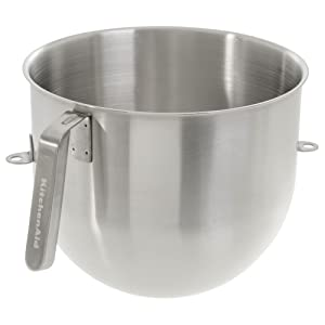 KitchenAid KSMC8QBOWL Stainless Steel 8 Qt. Bowl for Stand Mixers by KitchenAid