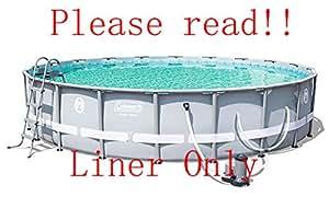 Amazon Com Bestway Coleman Power Steel Pool Liner Only