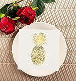 50 Pack Decorative Dinner Napkins - Disposable