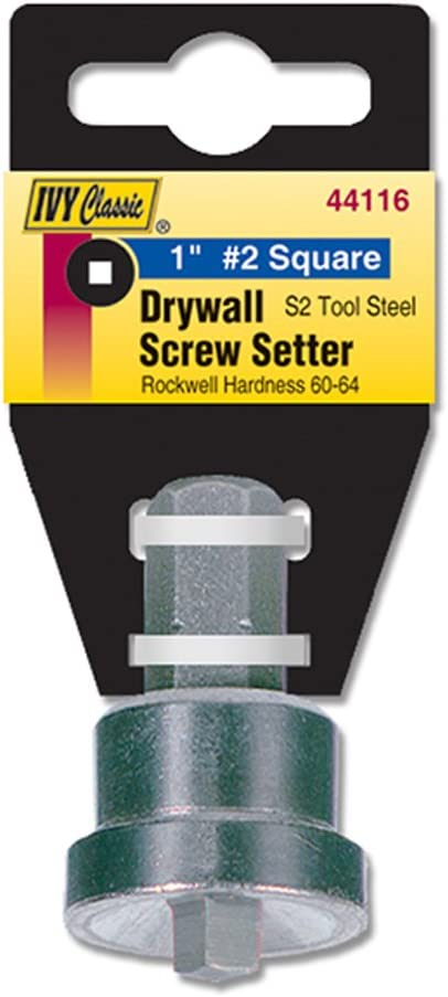 1//Card Impact Plus IVY Classic 44116 1-Inch #2 Square Drive Screw Setter
