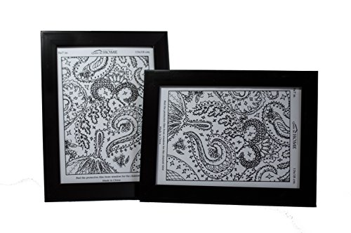 black 5x7 picture frames - 3