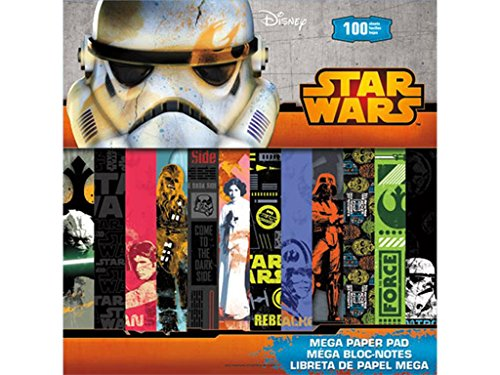 Sandylion Disney Star Wars Mega Paper Pad 12x12 by Sandylion