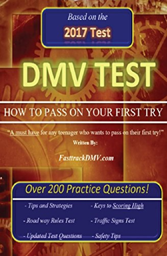 """DMV  Test """"HOW TO PASS ON YOUR FIRST TRY"""""""