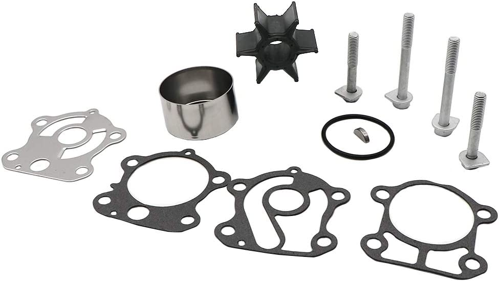 KIPA Impeller Water Pump Repair Kit for Yamaha 60 70 75 80 85 90 Hp Outboard Engines OEM 692-W0078-02, Replace for Sierra 18-3370