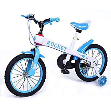 Bicicleta Infantil Modelo Rocket con Ruedas de 16 Color Azul
