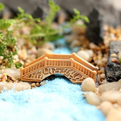 Cypress Garden Bridge - Aquaman Store Figurines & Miniatures - Resin Bridge Fairy Garden Miniatures Terrarium Mini Arch Decoration Craft Miniature Fairy Figurines Fairy Garden Miniatures 1 PCs